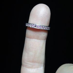 Natural Amethyst Band Ring iv21